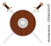 vector illustration wooden...   Shutterstock .eps vector #1056614147