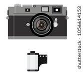 vector illustration retro photo ...   Shutterstock .eps vector #1056614153
