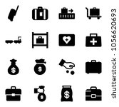 solid vector icon set  ... | Shutterstock .eps vector #1056620693