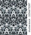 seamless paisley pattern   Shutterstock .eps vector #1056675287