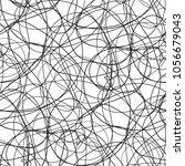 seamless chaos pattern.... | Shutterstock .eps vector #1056679043