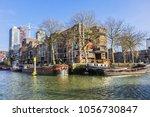 rotterdam  the netherlands  ... | Shutterstock . vector #1056730847