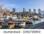 rotterdam  the netherlands  ... | Shutterstock . vector #1056730853