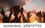 digital composite of business... | Shutterstock . vector #1056737753