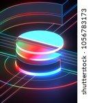 3d rendering  modern abstract...   Shutterstock . vector #1056783173