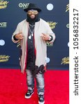 """Small photo of LaShawn """"Big Shiz"""" Daniels attends the 33rd Annual Stellar Gospel Music Awards at the Orleans Arena on March 24th, 2018 in Las Vegas, Nevada - USA"""