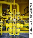 valves manual in the process... | Shutterstock . vector #1056902723
