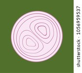 onion vector. free space for...