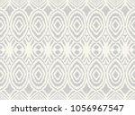 ikat seamless pattern. vector... | Shutterstock .eps vector #1056967547