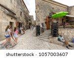 les baux de provence  france   ...   Shutterstock . vector #1057003607