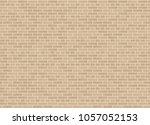 vector seamless english garden... | Shutterstock .eps vector #1057052153