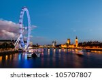 London Eye  Westminster Bridge...