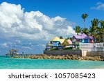 Tropical Resort  Colorful...