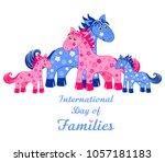 happy international day of... | Shutterstock .eps vector #1057181183