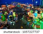 seaside heights  nj  usa august ...   Shutterstock . vector #1057227737