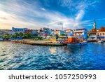 bozcaada  turkey   october 21 ...   Shutterstock . vector #1057250993