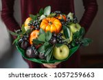 edible arrangements  edible... | Shutterstock . vector #1057259663