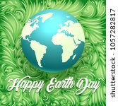 happy earth day illustration....   Shutterstock .eps vector #1057282817