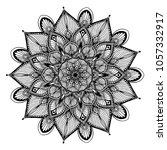 mandalas for coloring book.... | Shutterstock .eps vector #1057332917