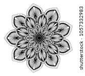 mandalas for coloring book....   Shutterstock .eps vector #1057332983