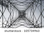 complicated structural pattern... | Shutterstock . vector #105734963