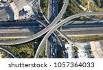 aerial drone bird's eye view of ... | Shutterstock . vector #1057364033