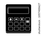 vector calculator icon | Shutterstock .eps vector #1057400627