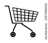 shopping cart icon | Shutterstock .eps vector #1057400633