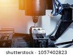 metalworking cnc milling... | Shutterstock . vector #1057402823