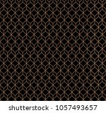 abstract geometric background... | Shutterstock .eps vector #1057493657