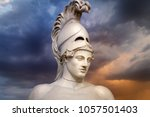 statue of ancient athens... | Shutterstock . vector #1057501403