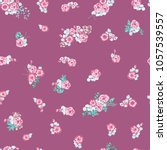 seamless gorgeous pattern in... | Shutterstock . vector #1057539557