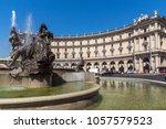 rome  italy   june 22  2017 ...   Shutterstock . vector #1057579523