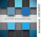 seamless blocks structure...   Shutterstock .eps vector #105760937