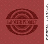 imported product realistic red... | Shutterstock .eps vector #1057642193