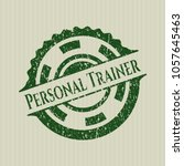 Green Personal Trainer Distres...