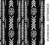 ethnic seamless pattern.... | Shutterstock .eps vector #1057660613
