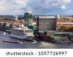 amsterdam  netherlands   april  ... | Shutterstock . vector #1057726997