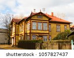 old house in the estonia | Shutterstock . vector #1057827437