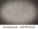 gray fabric texture. abstract... | Shutterstock . vector #1057872113