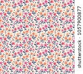 cute floral pattern in the... | Shutterstock .eps vector #1057900877