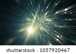 abstract neon bokeh circles.... | Shutterstock . vector #1057920467