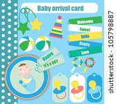cute elements for baby... | Shutterstock .eps vector #105798887