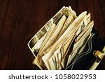 old correspondence and... | Shutterstock . vector #1058022953