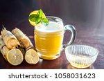 popular indian asian ganne ka... | Shutterstock . vector #1058031623