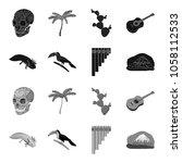 sampono mexican musical...   Shutterstock .eps vector #1058112533