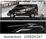 abstract van graphic kit for... | Shutterstock .eps vector #1058201267