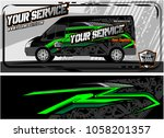 abstract van graphic kit for... | Shutterstock .eps vector #1058201357