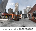 chicago  il   march 21st  2018  ... | Shutterstock . vector #1058228183