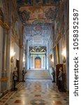 Small photo of Corridor in the Grand Master's Palace. Located in Valletta, Malta. 13 March 2018